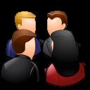 Groups-Meeting-Light-icon